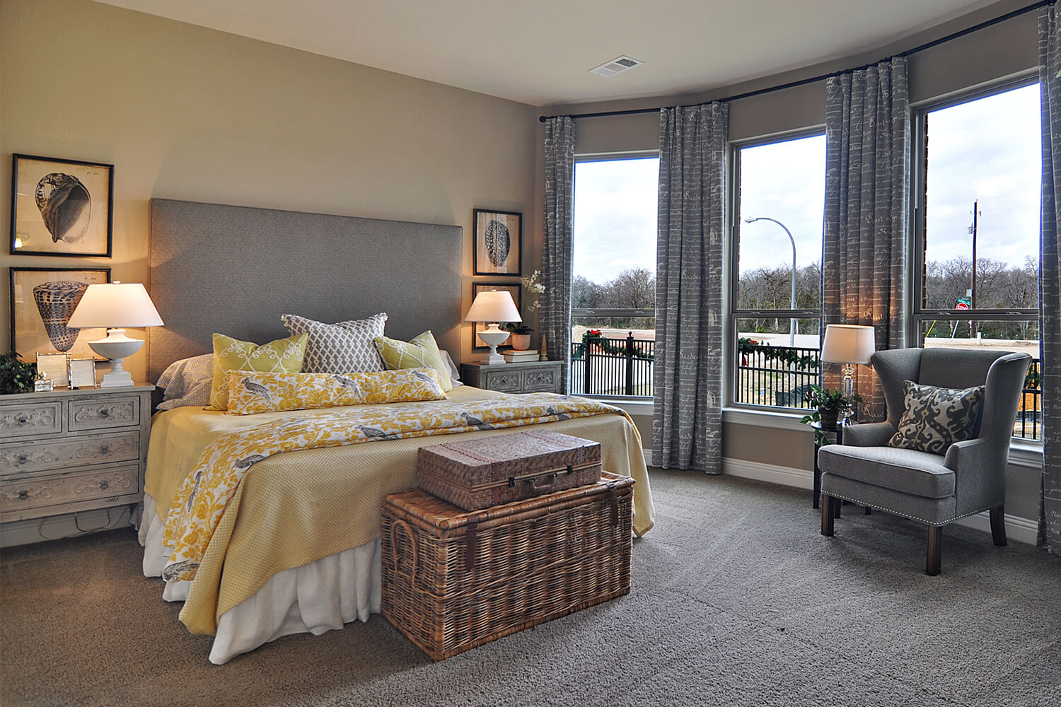 Master Bedroom - The Kilgore (2153 Plan)