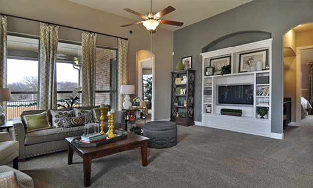Family Room - The Kilgore (2153 Plan)