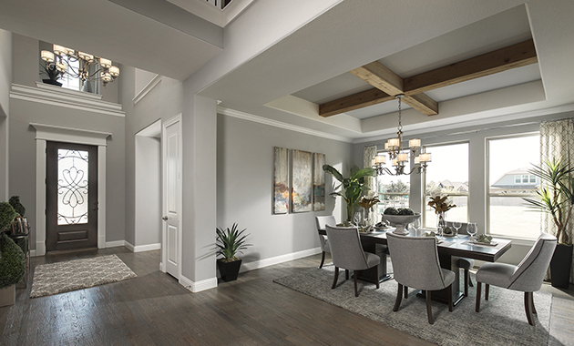 Dining Room/ Entry- The Marietta (Plan 4137)