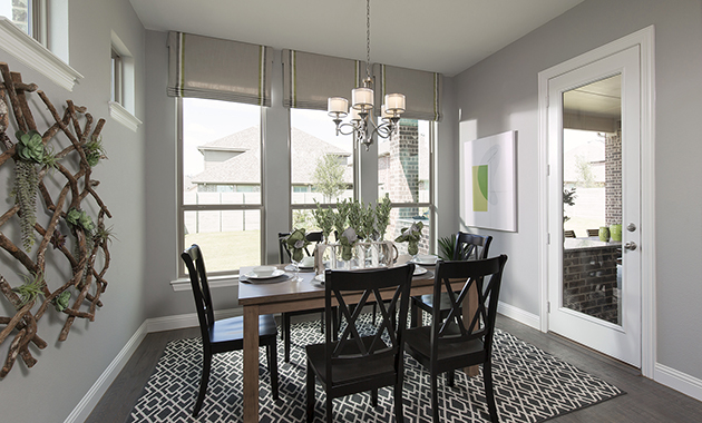 Breakfast Nook- The Marietta (Plan 4137)