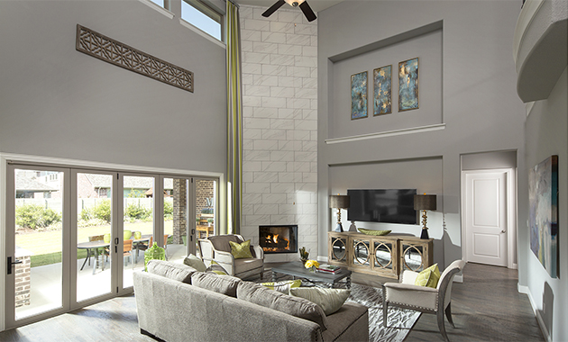 Family Room- The Marietta (Plan 4137)