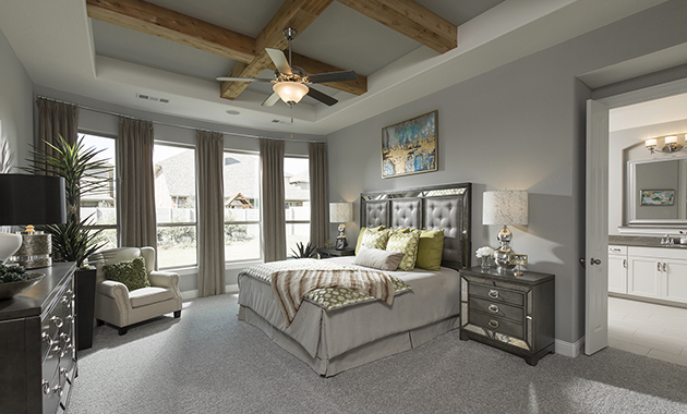 Mater Bedroom- The Marietta (Plan 4137)