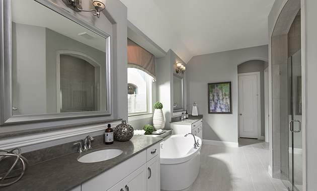 Master Bathroom- The Marietta (Plan 4137)