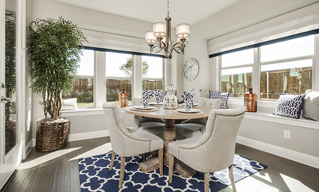 Breakfast Room - The Evant (2889 Plan)