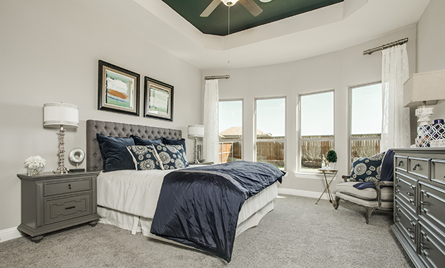 Master Bedroom - The Evant (2889 Plan)