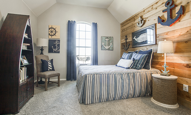 Secondary Bedroom - The Evant (2889 Plan)