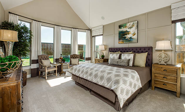 Master Bedroom - The Tuscola (3163 Plan)