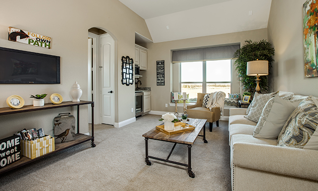 GenFlex Living Room - The Tuscola (3163 Plan)