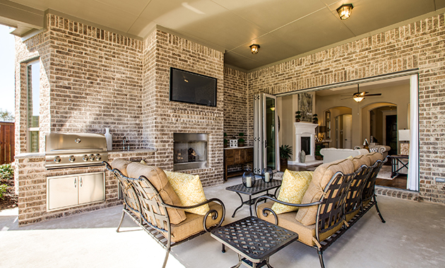 Outdoor Living - The Tuscola (3163 Plan)