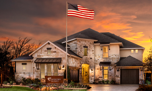 New Homes In Edgestone At Legacy Frisco Tx Coventry Homes