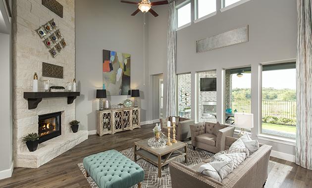 Family Room - Design 4166
