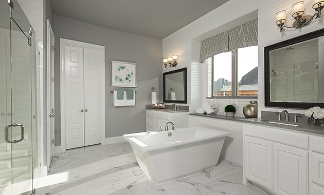 Master Bathroom - Design 4166