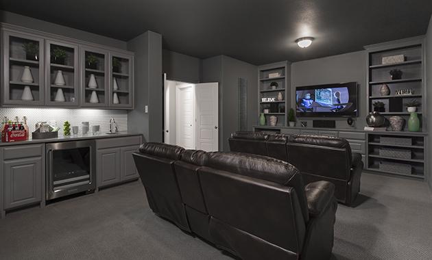 Media Room - Design 4166