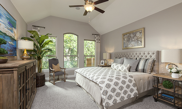 Master Bedroom - The Chappell Hill (3203 Plan)