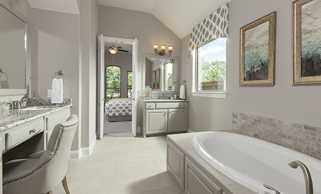 Master Bathroom - The Chappell Hill (3203 Plan)