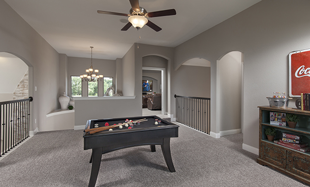 Game Room - The Chappell Hill (3203 Plan)