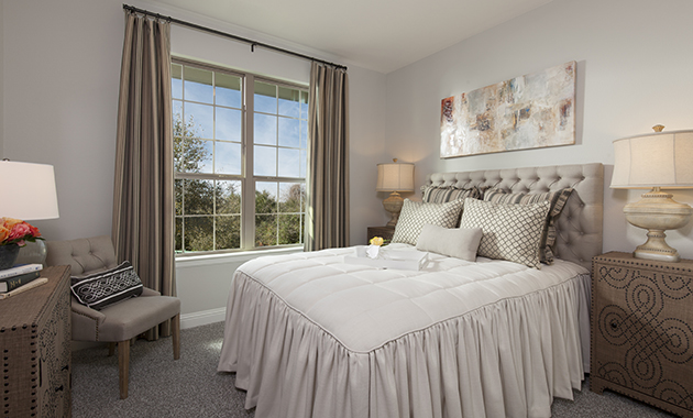 Guest Room - The Brookston (3099 Plan)