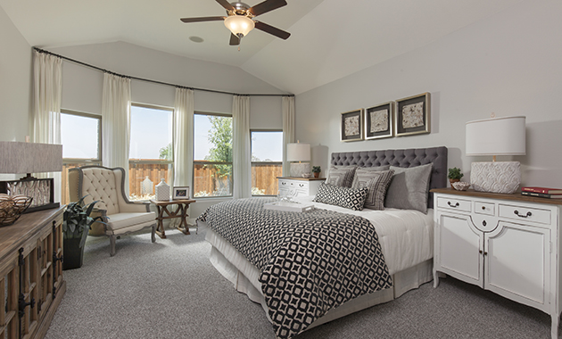 Master Bedroom - The Brookston (3099 Plan)