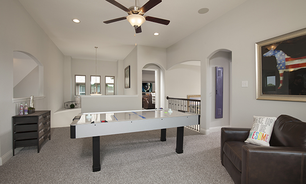 Game Room - The Brookston (3099 Plan)
