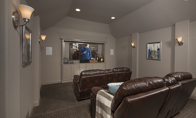 Media Room - The Brookston (3099 Plan)