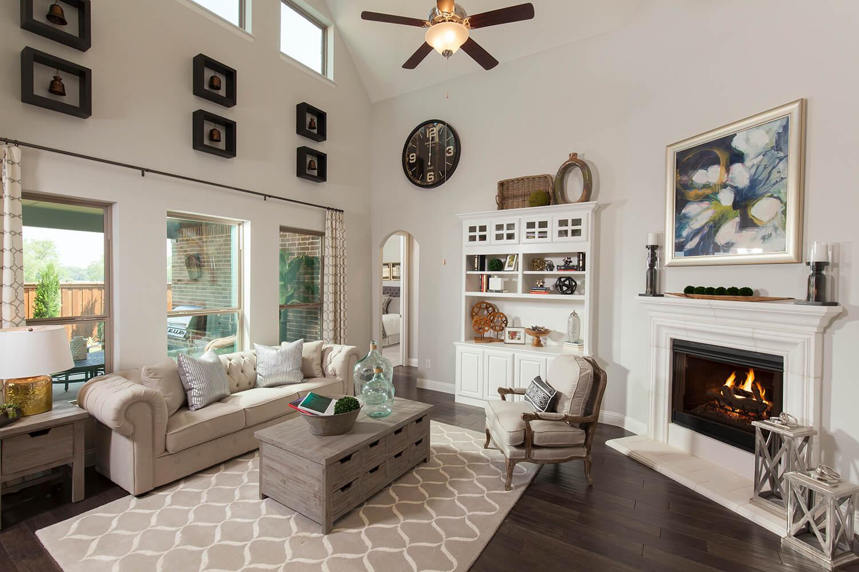 Family Room - The Brookston (3099 Plan)