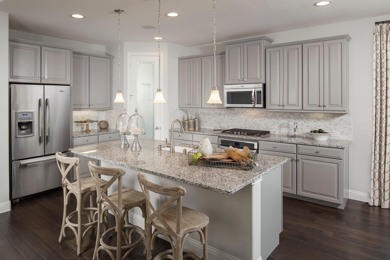 Kitchen - The Brookston (3099 Plan)