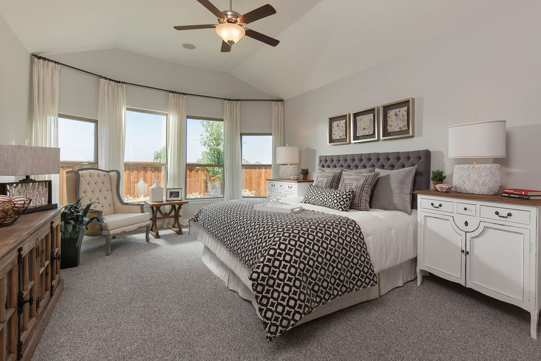 Master Bedroom - The Brookston (3099 Plan)