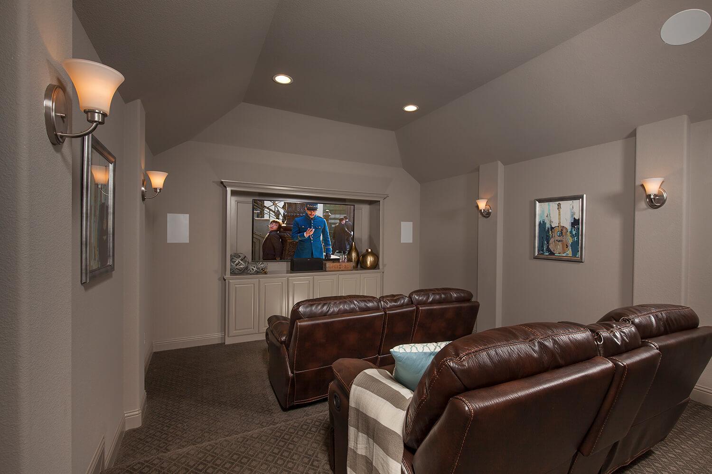 Media Room - The Brookston (3099 Plan)