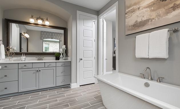 Master Bathroom - The Devine (Plan 3391)