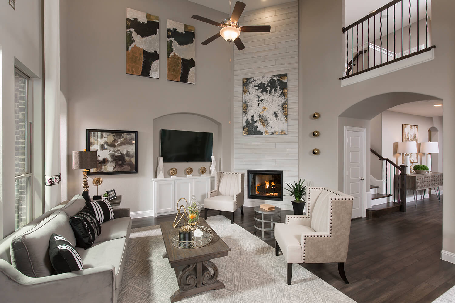 Family Room - The Devine (Plan 3391)