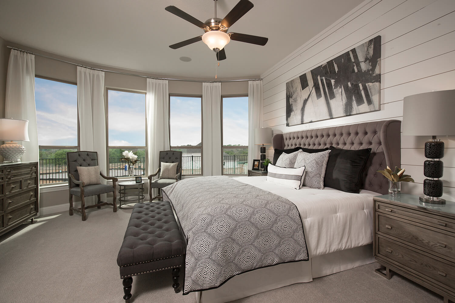 Master Bedroom - The Devine (Plan 3391)