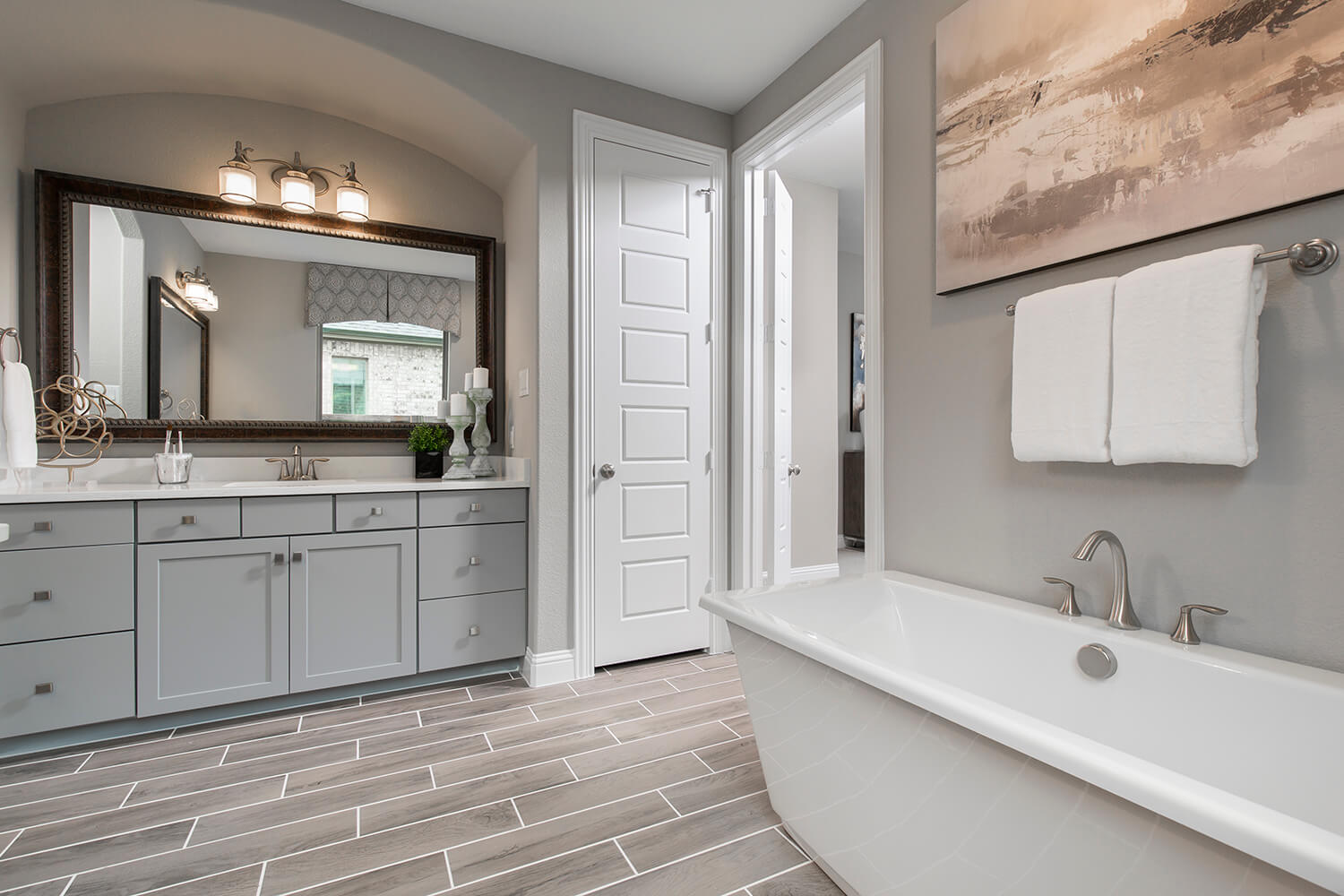 Master Bathroom - The Devine (Plan 3391)