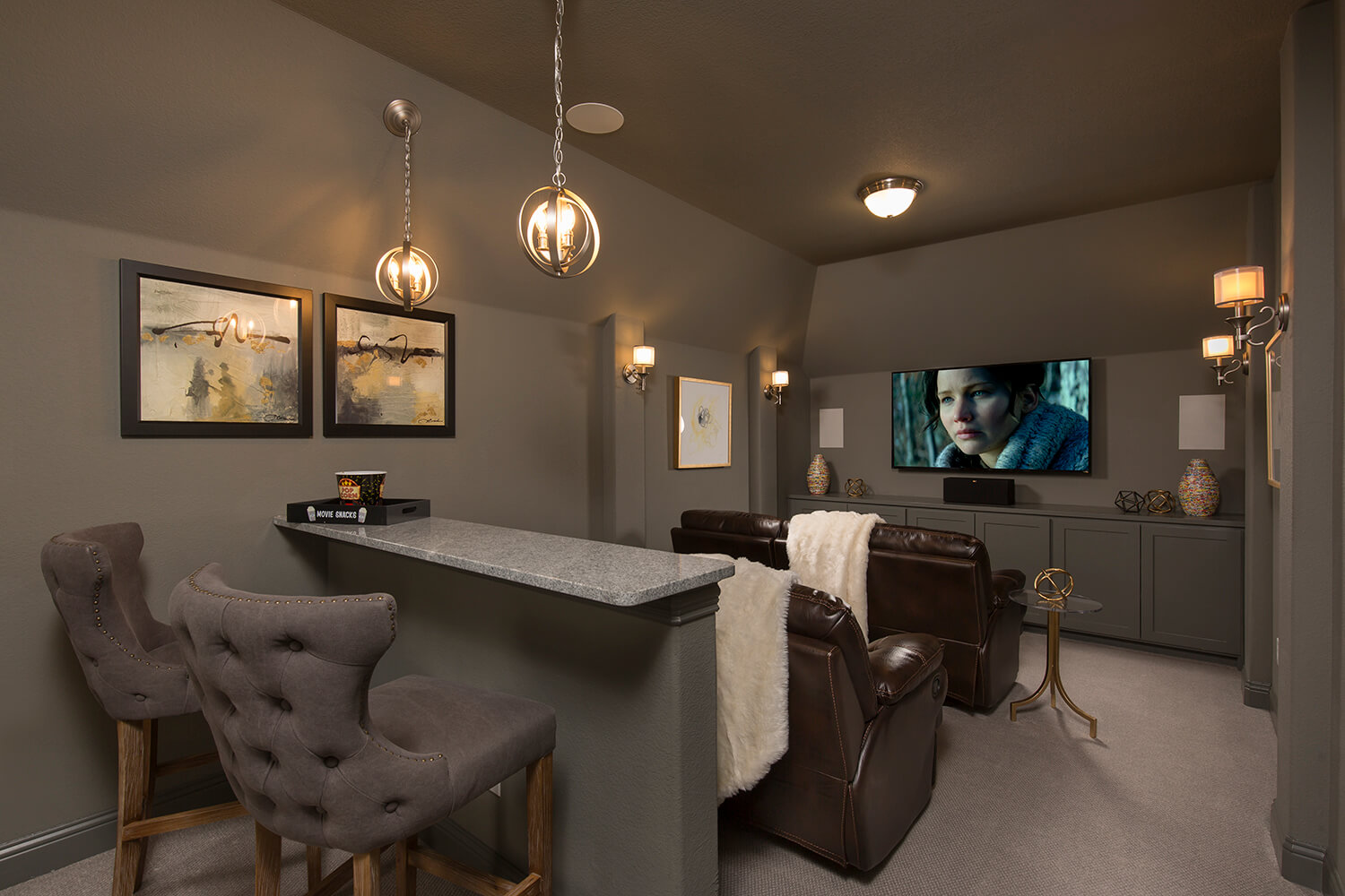 Media Room - The Devine (Plan 3391)