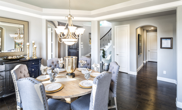 Dining Room - The Lockhart (Design 3767)