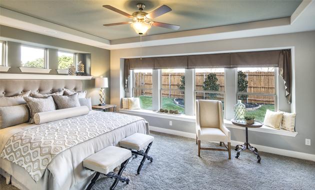 Master Bedroom - The Lockhart (Design 3767)