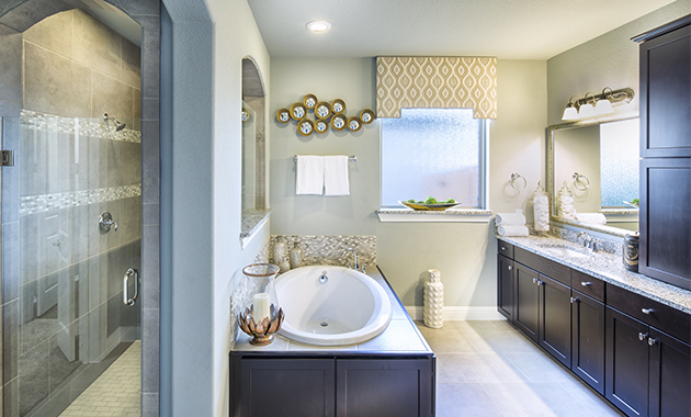 Master Bathroom - The Lockhart (Design 3767)