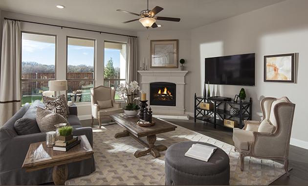 Living Room- The Purslane (Plan 3731)