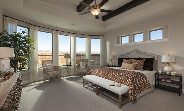 Master Bedroom- The Purslane (Plan 3731)