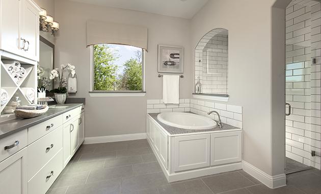 Master Bathroom- The Purslane (Plan 3731)