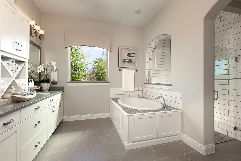 Master Bathroom - The Purslane (Plan 3731)
