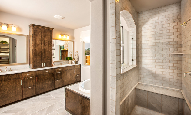 Master Bathroom - Design 3767