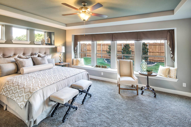 Master Bedroom - The Lockhart (3767 Plan)