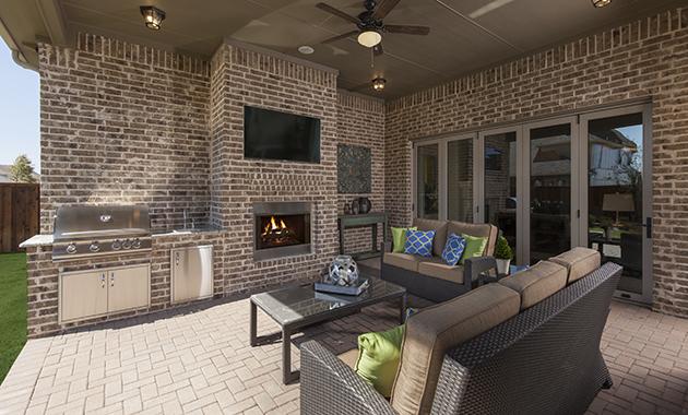 Texas Sized Patio- Design 3163