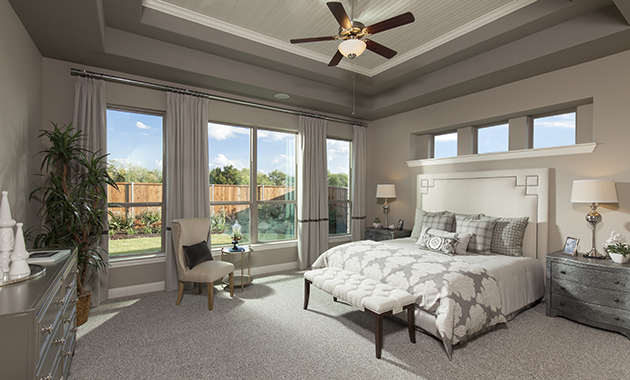 Master Bedroom - The Caddo (Design 3630)