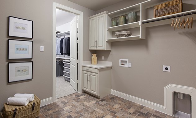 Laundry Room - The Caddo (Design 3630)