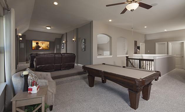 Game Room - The Caddo (Design 3630)