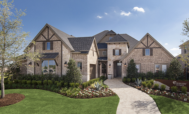 New homes in hollyhock frisco tx coventry homes for Coventry home builders