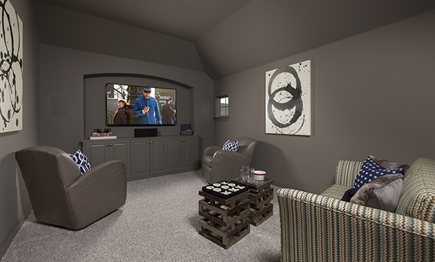 Media Room - Design 3097