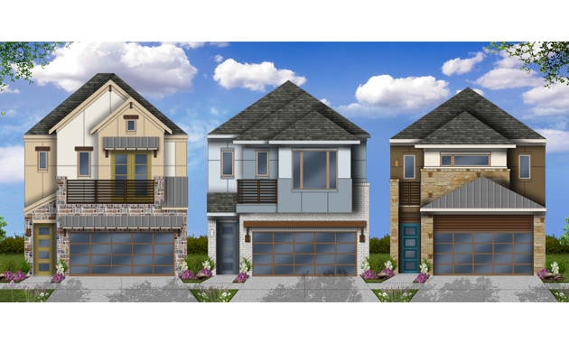 New homes in merion at midtown park 55ft homesites for Coventry home builders