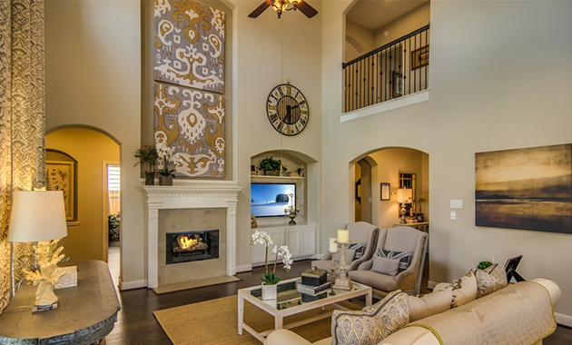 Family Room - The Hooks VI (6475 Plan)